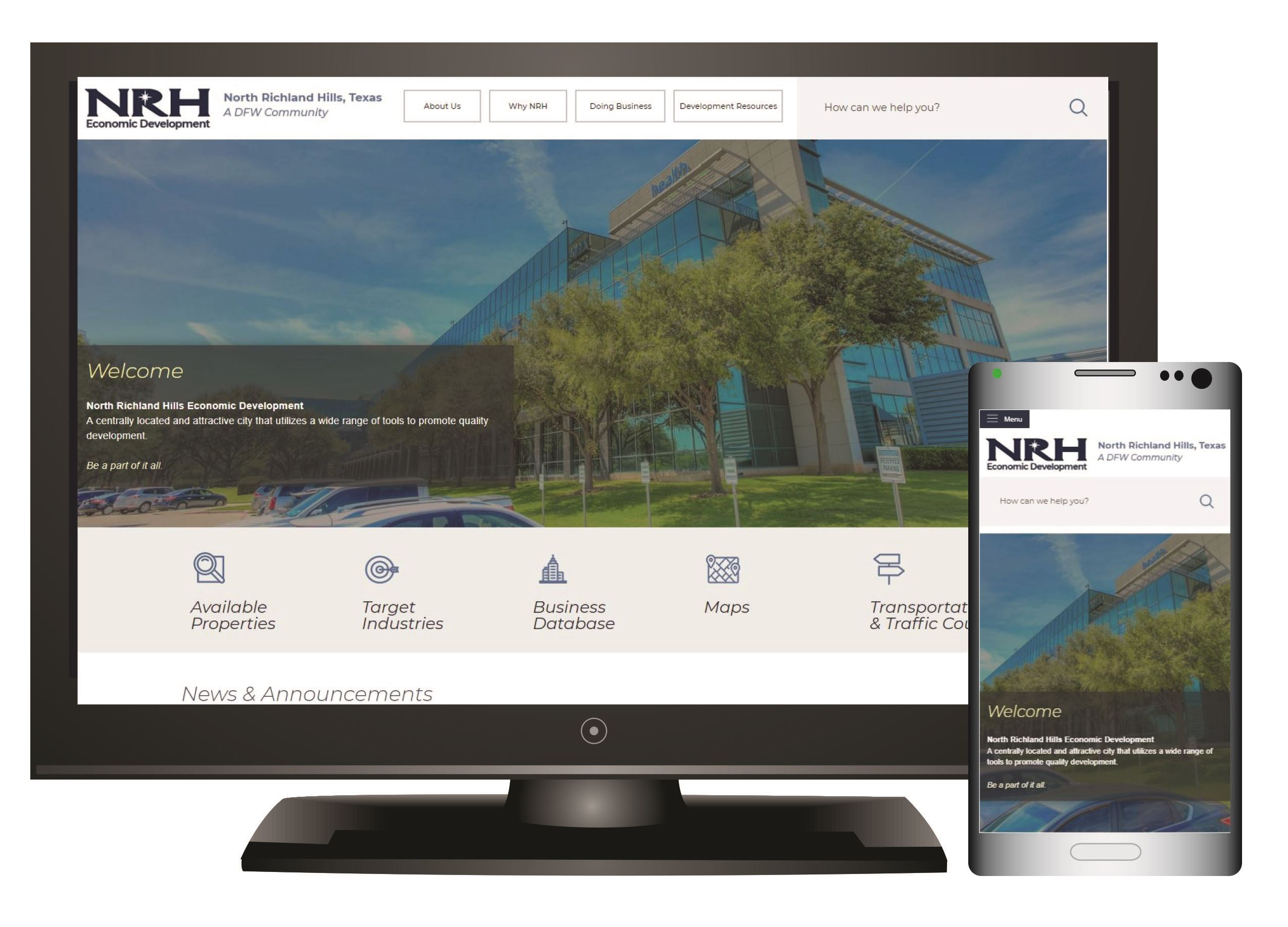Monitor Mobile New Site