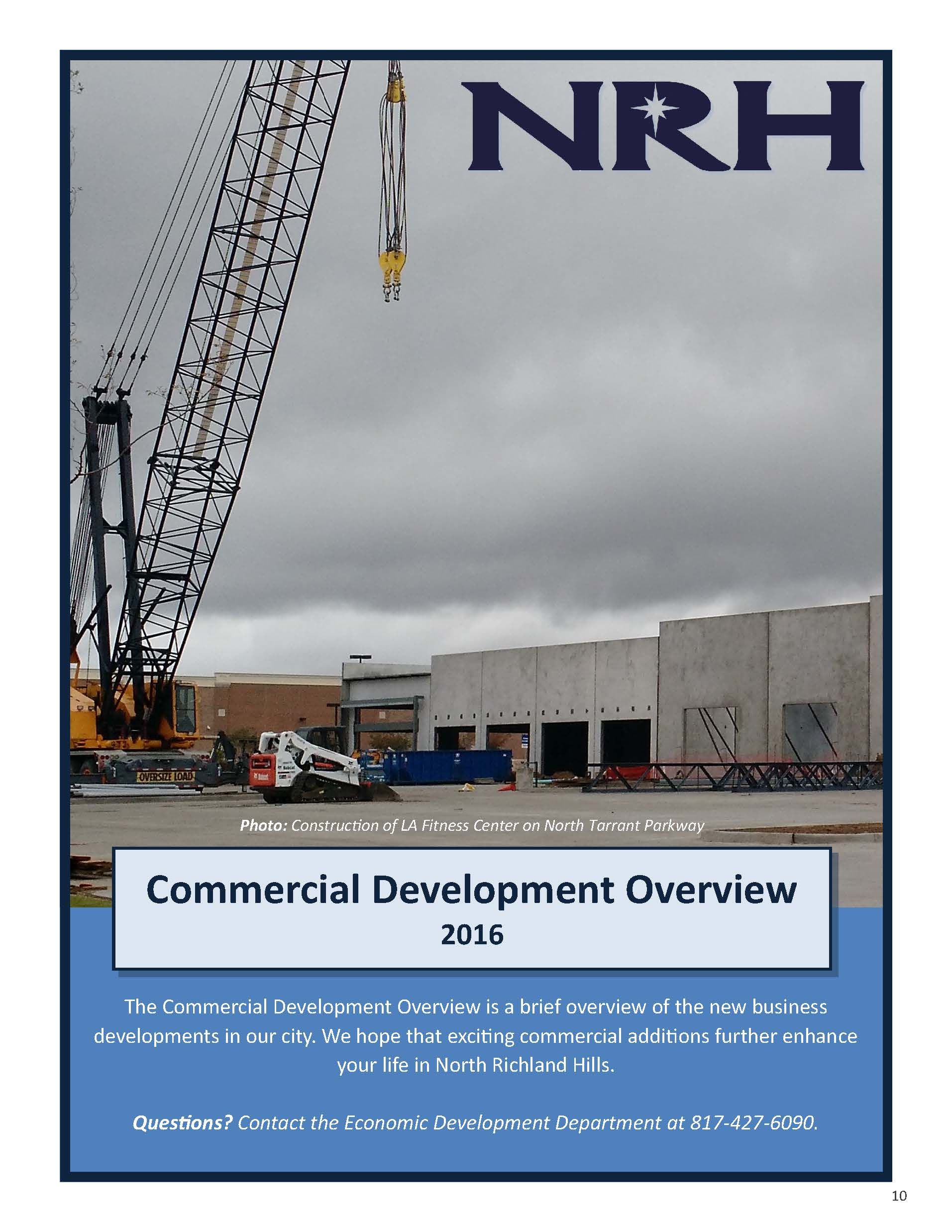 NRH Development Report