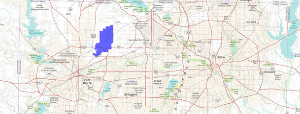 North Richland Hills Regional Map
